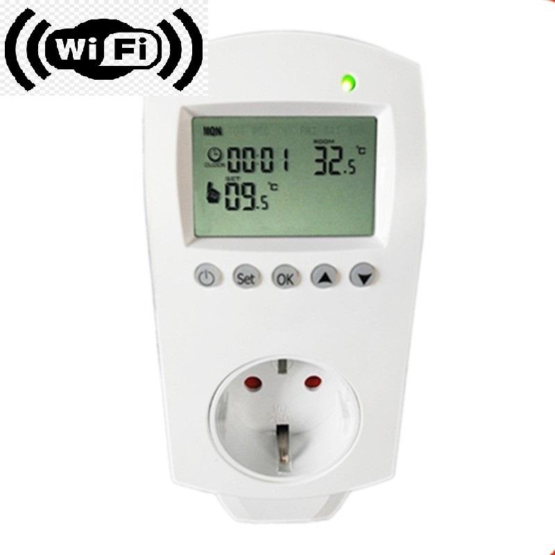 WiFi θερμοστάτης πρίζας